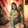 Shruti Ulfat and Mouni Roy pose together for a click at the party