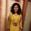 Sneha Wagh was a bright yellow at the post Eid party