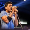 Farhan Akhtar performs with his band Farhan Live