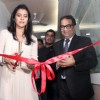 Kajol Devgan inaugarates the  NICU at Surya Child Care Hospital while Dr. Avasthi watches proudly