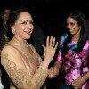 Sridevi and Hema Malini share a joke at the party