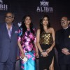 Boney Kapoor, Sridevi, Janvi Kapoor and Amar Singh arrive at the party