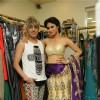 Mouni Roy with Rohit Verma at Rohit Verma Launched his New Festive