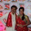 Rohitashv Gaur and Sucheta Khanna at SAB Ke Anokhe Awards 2013