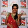 Sucheta Khanna in her cheerful smile at the SAB Ke Anokhe Awards 2013