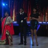 Bharti performs a gig at Jhalak Dikhhla Jaa while Ram Charan and Priyanka Chopra laugh along