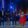 Ram Charan, Priyanka Chopra and Remo D'souza watch on as Bharti makes a joke at Jhalak Dikhhla Jaa