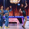 Priyanka Chopra performs with Shomant and Darsheel during the Promotions of Zanjeer