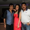 Rajiv Paul,Sanaa Khan and Kapil Mehra at the Party
