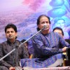 Anup Jalota and Sumeet Tappoo perform at the release of the album