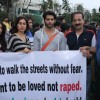 Karanveer Bohra, Teejay Sidhu, MLA Baba Sidhique and Satish Reddy Protest againt the rape case
