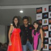 Brunah Abdalha, Ritesh Deshmukh and Sonalee Kulkarni at the Grand Masti Music Launch