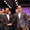 Nawazuddin Siddiqui with Troy Costa at LAKME FASHION WEEK 2013