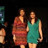 Sushmita and Shamita Shetty at LFW Winter Festival 2013