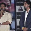 Ajay Devgan and Arjun Rampal at Satyagraha movie promotion