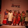 Kirron Kher was the showstopper for designer Gaurang at the LAKME FASHION WEEK 2013