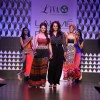 Aditi Rao Hydari with Anita Dongre for Global Desi at LAKME FASHION WEEK 2013