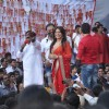Mahima Chaudhry at the Dahi Handi celebrations