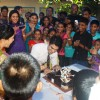 Eijaz Khan cuts the cake on the sets of Zee TV's Punar Vivah