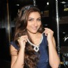 Soha Ali Khan tries on the jewellery at the Glamour Jewellery Exhibition