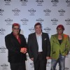 Subhas Ghai, Rishi Kapoor and Sukhwinder Singh at the Hard Rock Cafe Launch in Andheri