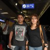 Mohit Suri and Udita Goswami were at Mumbai Airport leaving for SAIFTA