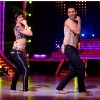 Lauren and Punit during a performance on Jhalak Dikhla Jaa