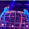Shaan and Marisha at a performance on Jhalak Dikhla Jaa