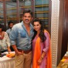 Suniel and Mana Shetty at Araaish Trousseau - a fund raising exhibition