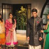 Karan Singh Grover along with Qubool hai cast