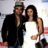 Mohit & Urvashi at the Premier of Hollywood film Riddick