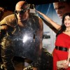 Shibani Kashyap was at the Premier of Hollywood film Riddick