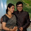 Supriya and Sachin Pilgaonkar at the event