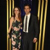 Sussanne and Hrithik Roshan at Rakesh Roshan's 64th birthday bash