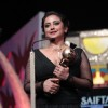 Divya Dutta receiving Best Supporting Actor at the SAIFTA award ceremony