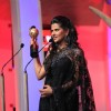 Kratika Sengar receiving Best Lead actor female TV award at the SAIFTA Award ceremony
