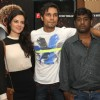 Elena Kazan, Randeep Hooda and Ahisor Soloman at the Press meet for the movie John Day