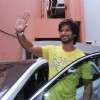 Shahid Kapoor arrives at Kaleidoscope 2013