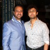 Gulshan Grover and Sonu Nigam were at Adesh Shrivastava's Birthday Party
