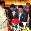 Adesh Shrivastava cuts his Birthday cake.