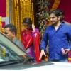 Arbaaz and Malaika Arora Khan during Ganpati Visarjan