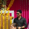 Kunal Khemu was seen at Salman Khan's Ganpati Visarjan