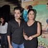 The lead pair of Gori Tere Pyar Mein, at the first look of the movie