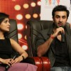 Pallavi Sharda and Ranbir Kapoor at the Promotion of Besharam
