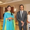 Mehr Jesia and Arjun Rampal at Rahul Thackeray & Aditi Redkar's engagement