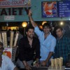 Vivek Oberoi and Aftab Shivdasani with the Grand Masti team visited Gaeity Galaxy Cinema Halls