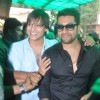 Vivek Oberoi and Aftab Shivdasani visited Gaeity Galaxy Cinema Halls
