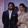 Ranveer Singh and Deepika Padukone were at the trailer Launch of Ram Leela