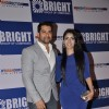 "Aftab with a friend at Yogesh Lakhani's ""Bright"" Birthday Party"