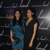 Sridevi with her daughter Janvi at the Fashion Label Koecsh Launch